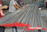 Linha hidráulica sem emenda tubulação de aço inoxidável da precisão S31600
