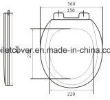 Runde Form-Verlangsamung-Toiletten-Sitzxiamen-Fabrik
