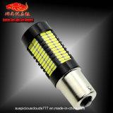 luz de marcha atrás auto de 1156-4014-108SMD LED, lámpara de la vuelta