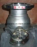 Válvula de esfera da extremidade da flange de JIS com aço inoxidável