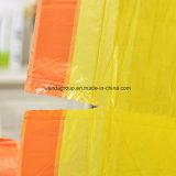 Свернутые мешки отброса Drawstring HDPE 20mic Drawtape подгонянные мешком