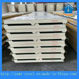 Panneaux de mur/toit de sandwich à unité centrale avec le feuillard et le faisceau d'unité centrale