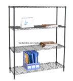 NSF réglable 4 Iers bricolage Chrome Metal Office Wire Rack (CJ9035150A4C)