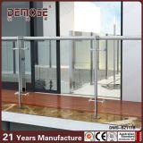 Het Ontwerp van de Balustrade van het roestvrij staal en van het Glas (dms-B2111)