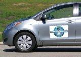 Aimants polychromes faits sur commande de porte de véhicule de rectangle d'impression des prix les plus inférieurs
