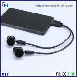Vero mini trasduttore auricolare stereo eccellente senza fili di Bluetooth per gli sport esterni