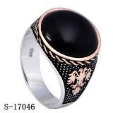 Venta al por mayor de plata de la fábrica del anillo de la joyería del modelo nuevo 925