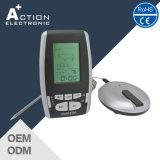 Drahtloser Digital BBQ-Thermometer mit Edelstahl-Fühler und Timer