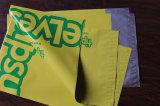 Saco impresso embalagem do logotipo do t-shirt com selo do auto