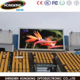 Farbenreiche im Freienvideo P10 LED-Bildschirmanzeige für das Bekanntmachen des Bildschirms