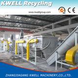 Bottiglie di /PP dell'HDPE, contenitori che riciclano la lavatrice di plastica dura della macchina