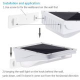 Lumière solaire imperméable à l'eau extérieure de lampe de mur de garantie de jardin de détecteur de mouvement d'énergie solaire de 38 DEL