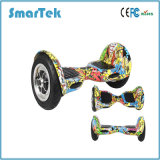 Pouces chaud global de Smartek 10 Individu-Équilibrant le scooter Patinete Electrico Bluetooth Hoverboard Segboard de graffiti de Hiphop de deux roues avec le contrôleur éloigné S-002-Cn