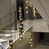 De veelvoudige moderne Antieke Lamp van de Tegenhanger van het Messing laser-Scherpe