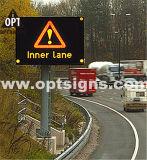 구입 Optraffic ODM 세륨 En 12966 옥외 P8 P10 교통 정리 메시지 표시 발광 다이오드 표시 스크린 널 구매