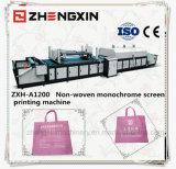 Nicht gesponnener Gewebe-Bildschirm-Drucken-Maschinen-Preis (Zxh-A1200)