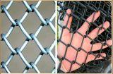 Горячая колючая проволока верхней части загородки звена цепи сбывания дешево горячая окунутая гальванизированная