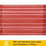 450mmの赤の長い水平の組合せのクリスタルグラスのモザイク