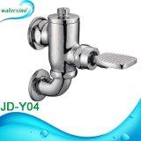 Válvula de descarga de lavatório montada na parede Válvula de descarga manual ou manual