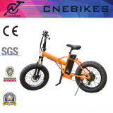 250W 후방 모터를 가진 주황색 색깔 전기 접히는 자전거