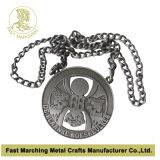 Medaglia riparata da tre parti, medaglia di carnevale del premio del ricordo