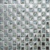 Mattonelle di mosaico di vetro di arte della parete per la cucina, stanza da bagno, priorità bassa della TV (FY133)