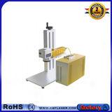 Qr 부호 금속 기계설비를 위한 작은 휴대용 금속 섬유 Laser 마커