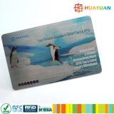 Cartões espertos codificados RFID do presente do PVC de 13.56MHz ISO14443A FUDAN08 FM08