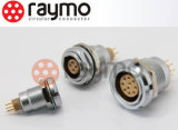 Raymoの電気産業女性5pin円コネクター