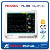 Monitor da pressão sanguínea de monitor paciente do multiparâmetro/monitor cardíaco