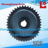 La ruota dentata standard del ghisa dell'OEM ha forgiato la rotella Chain del rullo