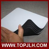 Almofada de rato de borracha da cópia em branco da foto de transferência do Sublimation