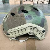 Helm van het Ras van het Type Pj van Gevecht van de Kern OPS de Regelbare Tactische Snelle Beschermende voor de Kleur van Fg van Activiteiten Paintball