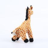 Juguete suave relleno jirafa animal de la felpa