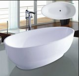 vasca da bagno moderna di figura dell'uovo di 1700mm (AT-6018)