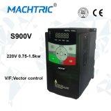 220V 변하기 쉬운 주파수 변환장치 0.75kw AC 모터 속도 드라이브