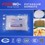 Изготовление E20 сорбата калия пищевой добавки FCCIV высокого качества зернистое