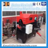 El canal de aluminio de la bajada de aguas lamina la formación de la máquina