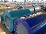 La tôle d'acier galvanisée enduite d'une première couche de peinture/couleur a enduit la bobine/ride en acier PPGI