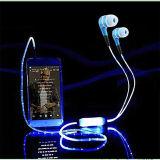 Het LEIDENE van de Toebehoren van de Telefoon van het Ontwerp van het metaal Mobiele Gloeien Oortelefoon (k-788)