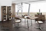 مكتب متأخّر حديث خشبيّة شعبيّة يتعشّى [ستينلسّ ستيل] طاولة ([نك-دت280-1])