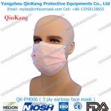 Maschera di protezione chirurgica non tessuta a gettare di prezzi poco costosi all'ingrosso di alta qualità della fabbrica 2ply 3ply Qk-FM0006