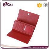 Buitensporige Dame PU Portefeuille van de rode Kleur met Uitstekende kwaliteit, het Merk van de Portefeuille