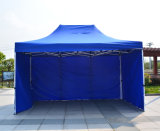 3X4.5m展覧会の鋼鉄折るテントの表示によってはおおいが現れる