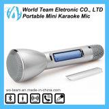 Микрофон конденсатора Karaoke Bluetooth миниого портативного холодного способа беспроволочный
