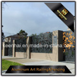 Panneau en aluminium de frontière de sécurité de jardin en métal de coupure de laser pour la décoration