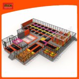 2017mich Mini Trampoline Park for Kids Amusement Center