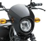 """[9بك] [لد] 5.75 """" مستديرة لأنّ [هرلي] [دفيدسن] درّاجة ناريّة (أسود) [لد] عرض [دمكر] مصباح أماميّ"""