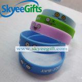 Wristband su ordinazione ecologico del silicone di marchio del braccialetto del silicone