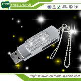 유행 프로모션 보석 꽃 USB 플래시 드라이브